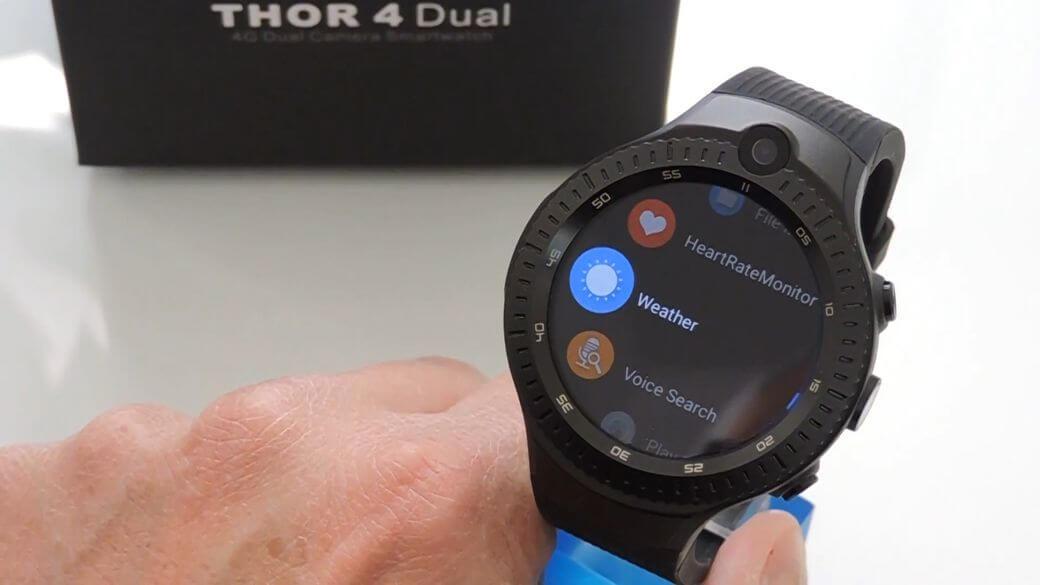 Zeblaze THOR 4 Dual Обзор: Умные часы Android с двумя камерами
