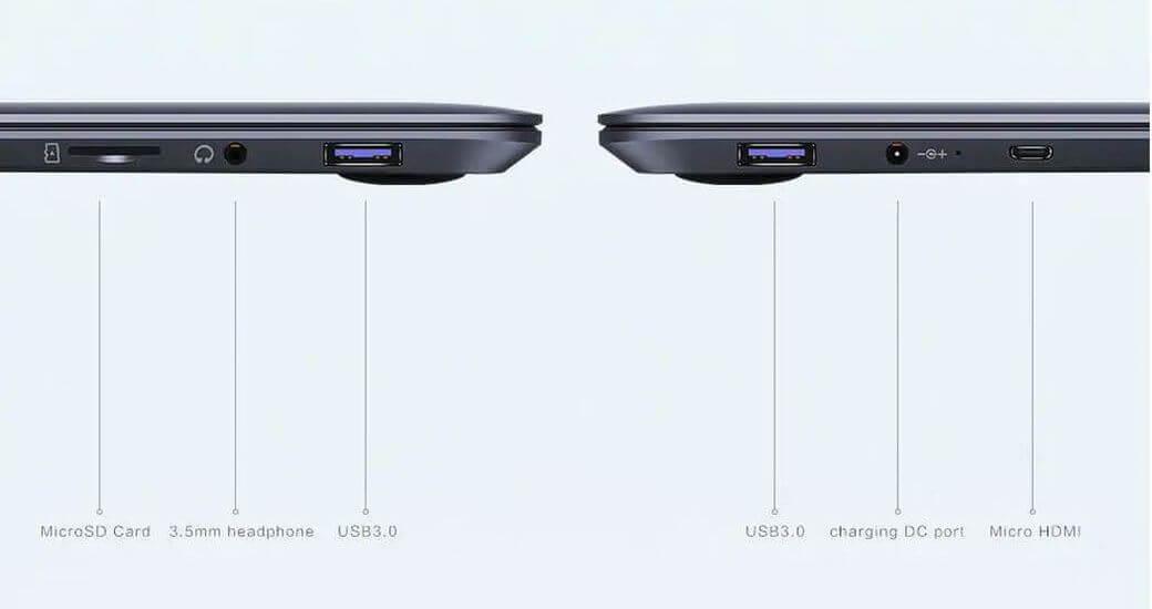 CHUWI HeroBook CWI532 Обзор: Недорогой ноутбук с Intel Celeron N3050