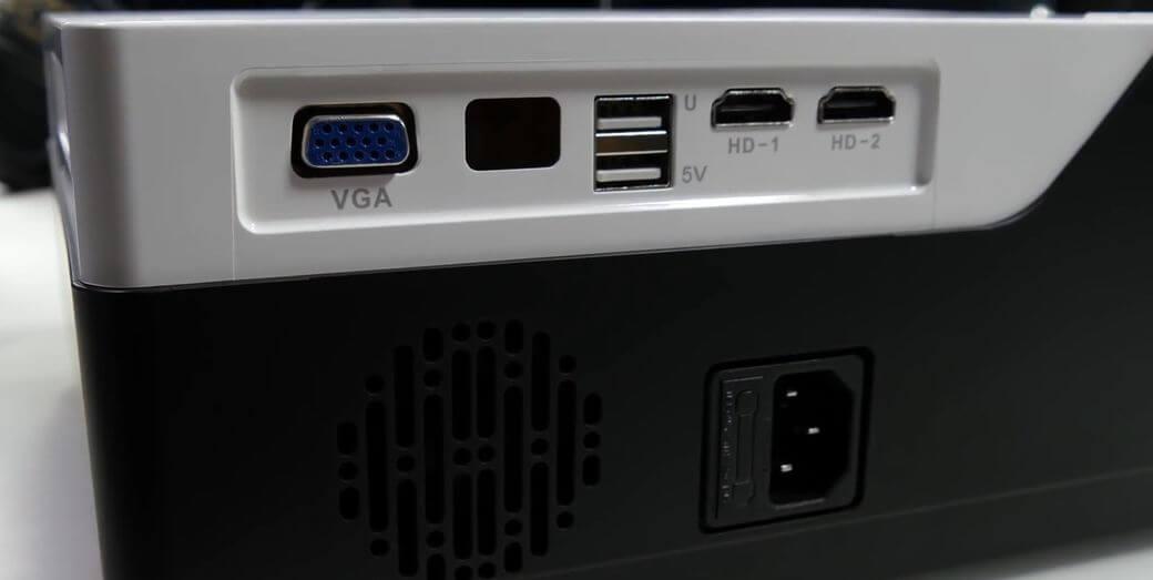 M18 LED проектор Обзор: Full HD разрешение за $190