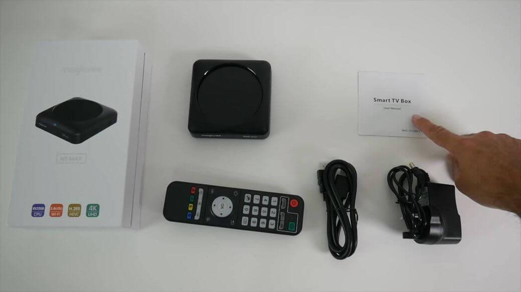 MAGICSEE N6 Max Обзор: Мощная ТВ приставка с Rockchip RK3399