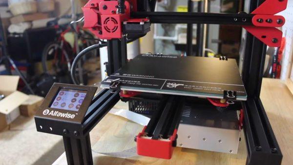 Alfawise U30 Обзор: Компактный 3D-принтер за $180