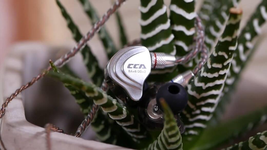 CCA C10 Обзор: Гибридные наушники с 5 драйверами