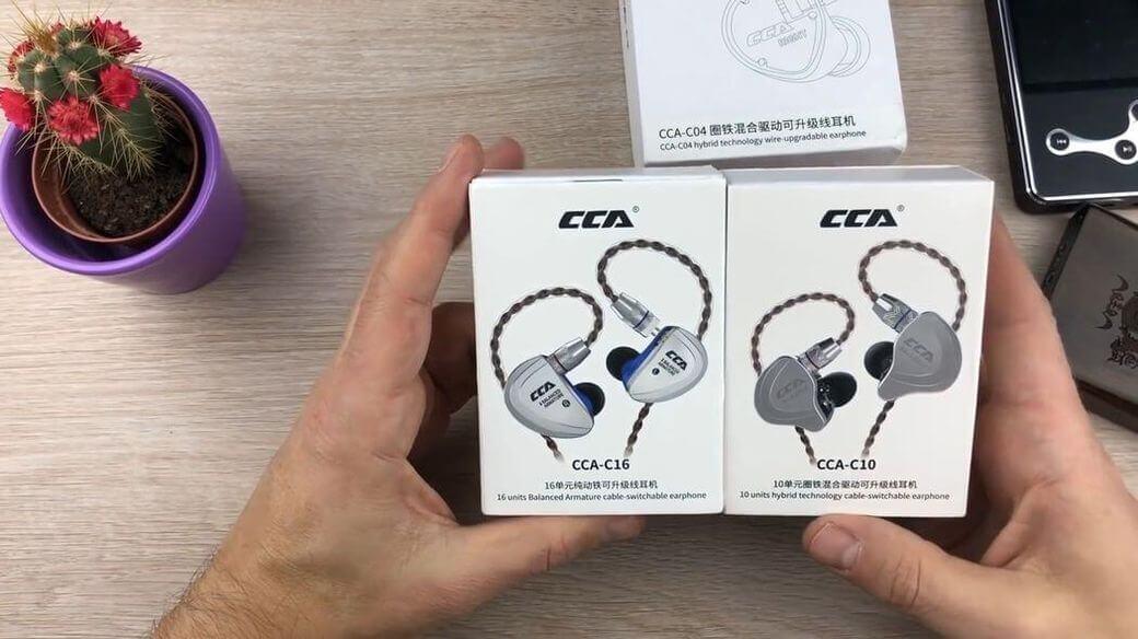 CCA C16 Обзор: Огромные флагманские наушники с 16 драйверами