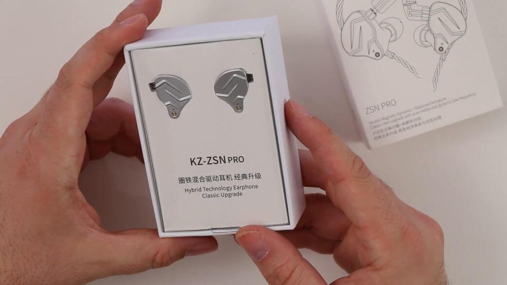 KZ ZSN PRO Обзор: Гибридные наушники 1BA+1DD
