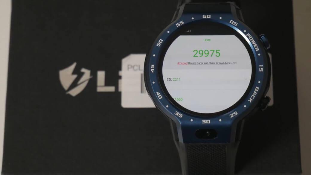 LEMFO LEM9 Обзор: Умные часы с двойной ОС