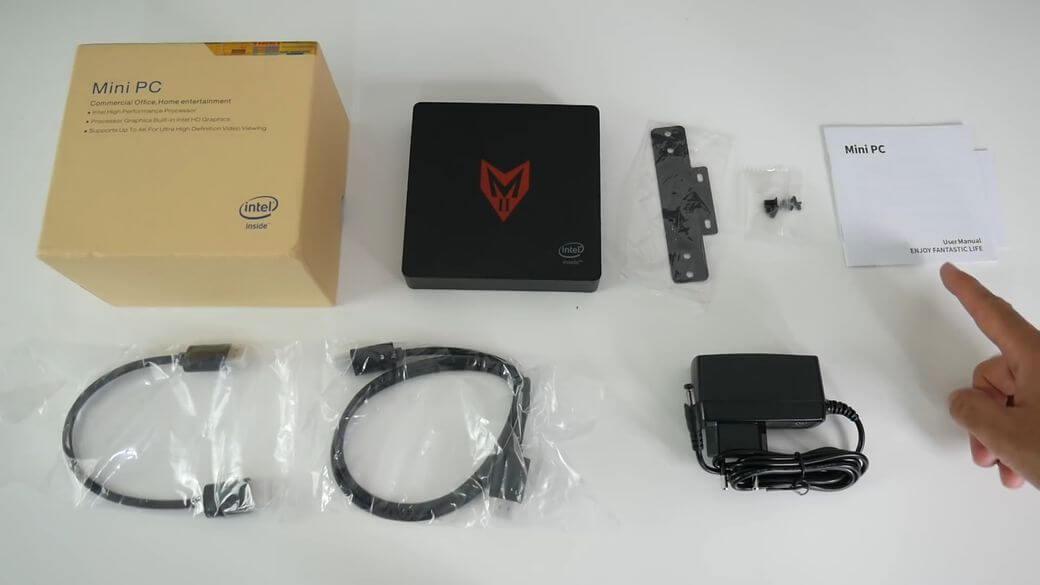 MII Мини ПК Обзор: Компактный компьютер с 8/128 Гб памяти