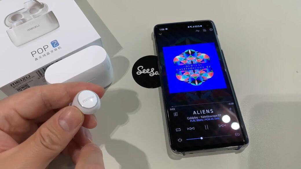 Meizu POP 2 Обзор: Второе поколение наушников с Bluetooth 5.0