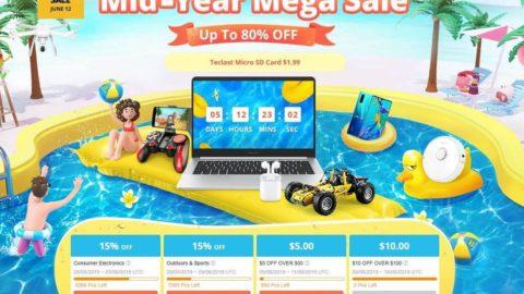 Мега летняя распродажа от интернет магазина GearBest до 80%