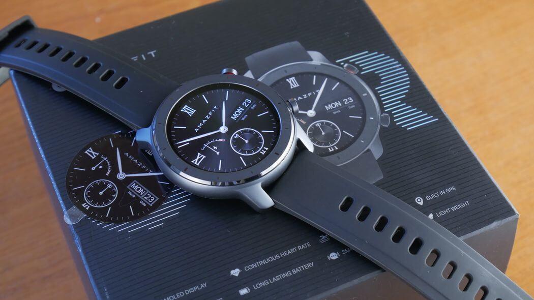 Amazifit GTR Обзор: Умные часы с GPS и NFC