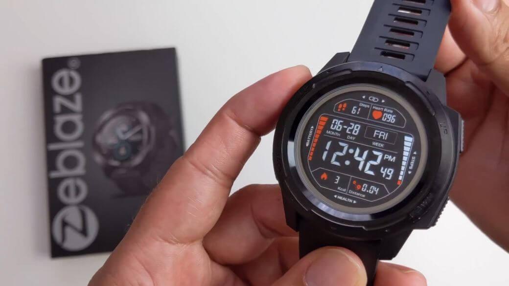 Zeblaze VIBE 5 Обзор: Умные фитнес часы с защитой 5 ATM