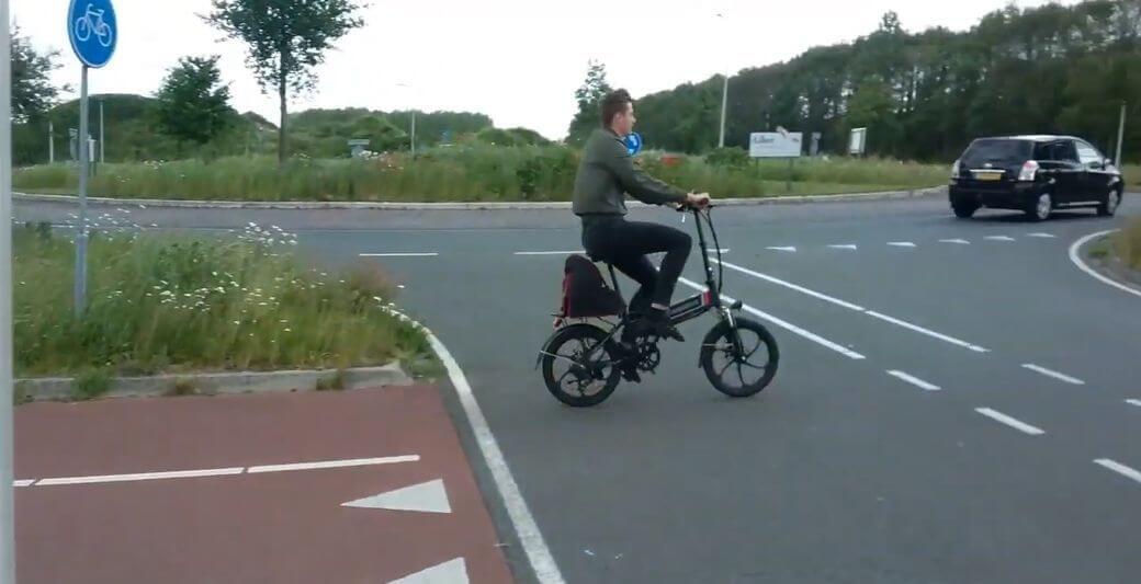 Samebike 20LVXD30 Обзор: Складной электрический велосипед 2019 года