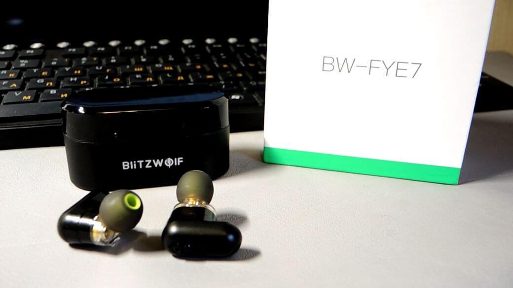 Syllable S101 и Blitzwolf BW-FYE7 Обзор: Сравнение двух беспроводных наушников