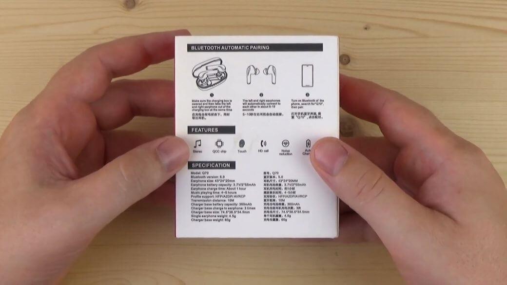 Yinyoo Q70 Обзор: Bluetooth наушники с поддержкой AptX