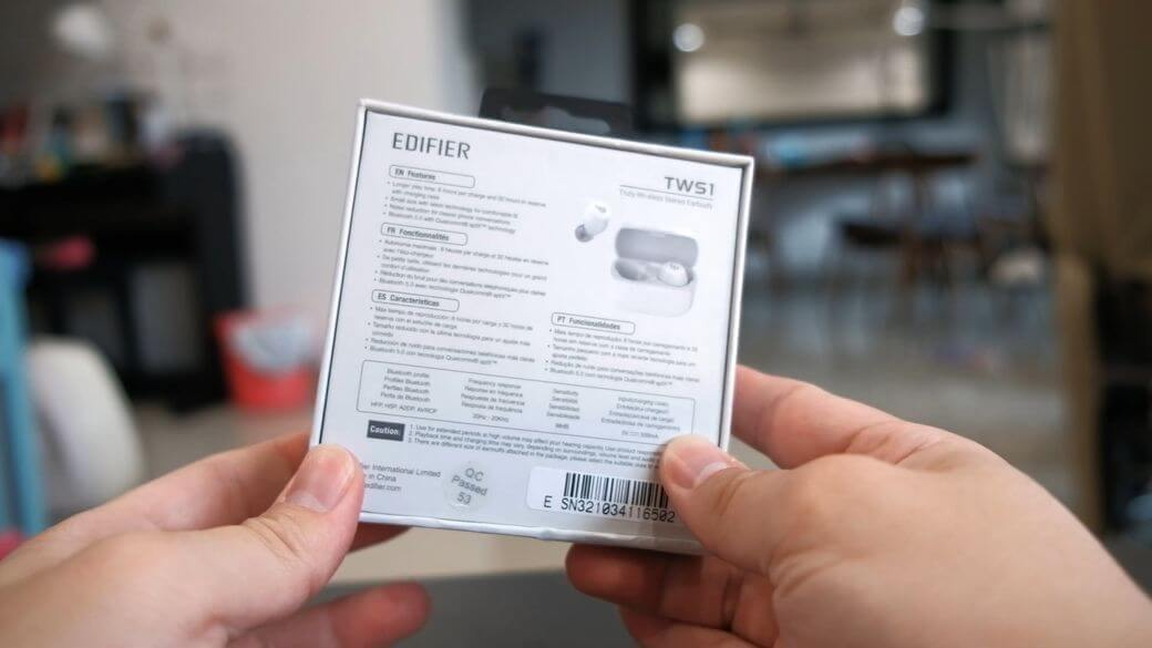 Edifier TWS1 Обзор: Недорогие TWS наушники с поддержкой aptX