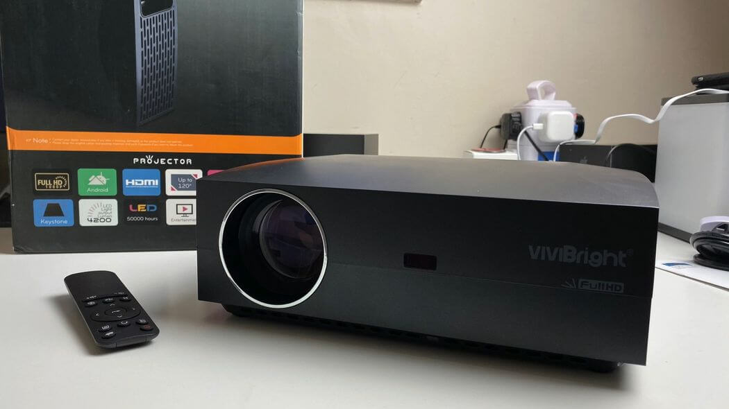 VIVIBRIGHT F30UP Обзор: Невероятный Full HD проектор всего за $175