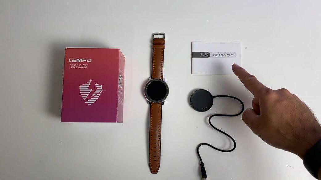 LEMFO ELF2 Обзор: Стильные имиджевые фитнес часы 2019