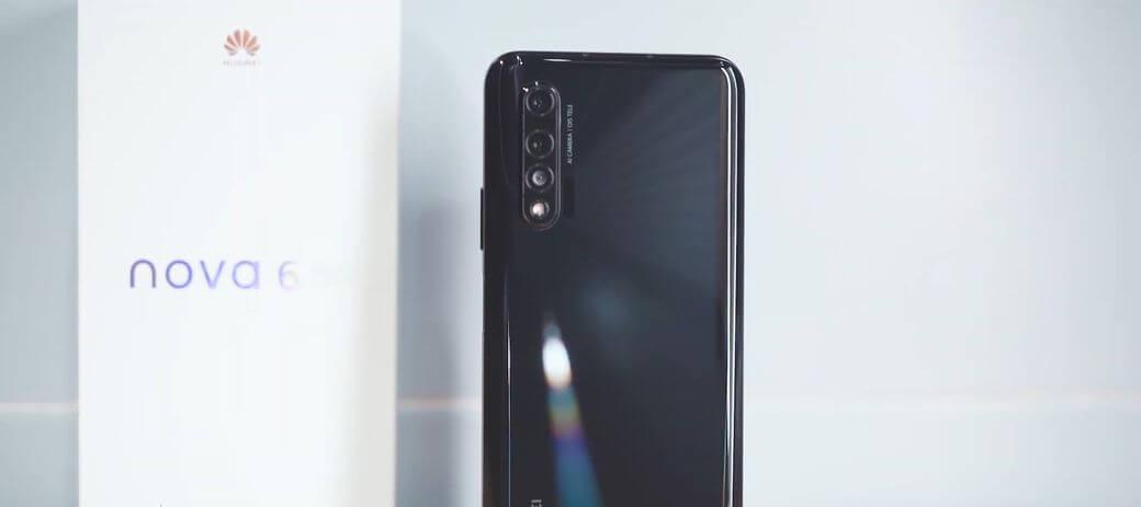 Huawei Nova 6 Первый обзор: Смартфон с двойной селфи камерой и 5G сетью