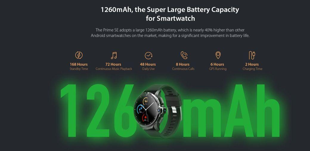KOSPET Prime SE Первый обзор: Умные часы с поддержкой 4G за$99