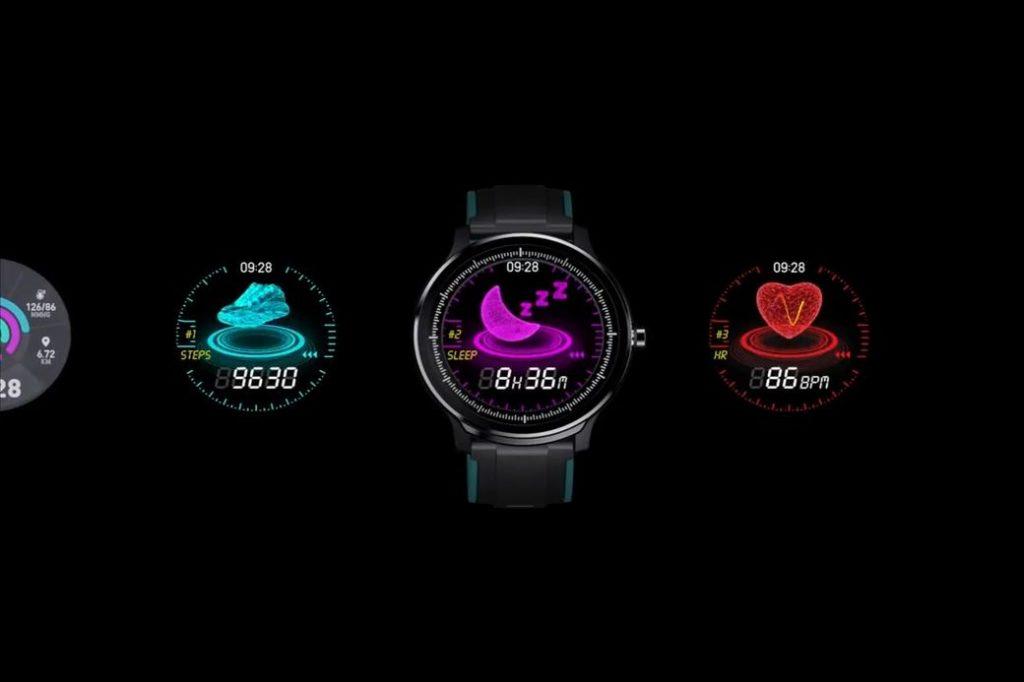 Kospet Probe Первый обзор: Фитнес-часы с защитой IP68 и функцией тренировки дыхания