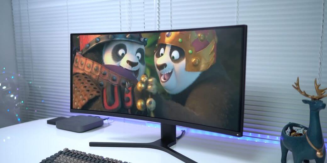 Xiaomi Mi Surface Display Обзор: WQHD Игровой монитор с 144 Гц