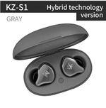 KZ S1 Обзор: Гибридные беспроводные наушники с 1DD + 1BA драйвером
