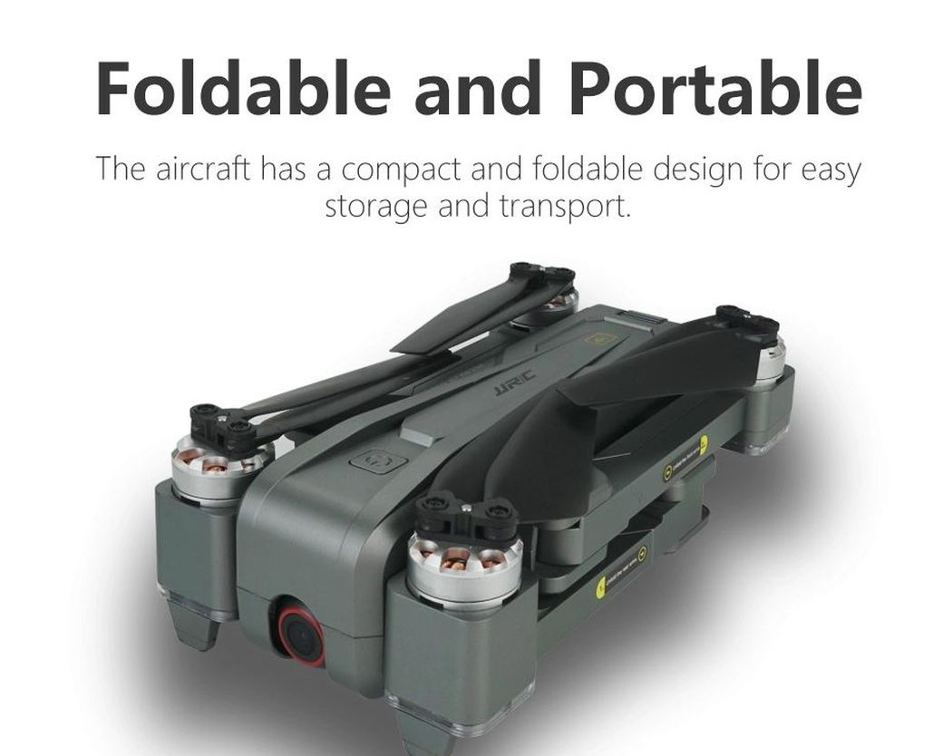 JJRC X11P: Компактный дрон с 4K камерой