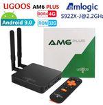 UGOOS AM6 Plus Обзор: Мощная ТВ приставка с Amlogic S922X-J