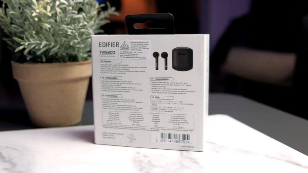 Edifier TWS 200 Обзор: Беспроводные наушники с 13 мм драйвером и кодеком aptX