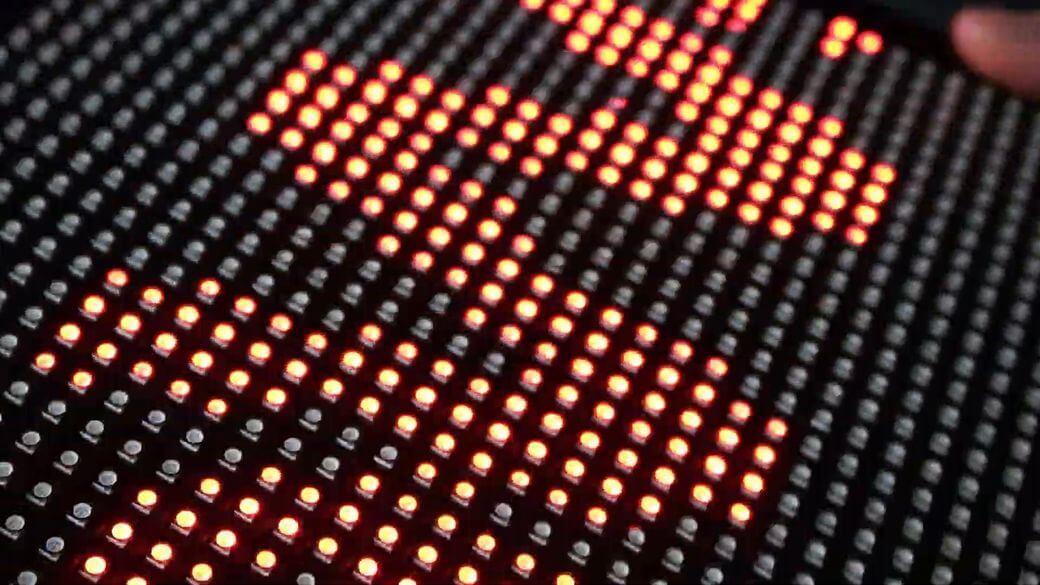 Умный светодиодный экран для автомобиля 2020