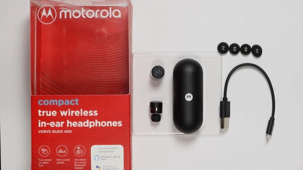 Motorola Vervebuds 400 Обзор: Беспроводные наушники с безупречным дизайном