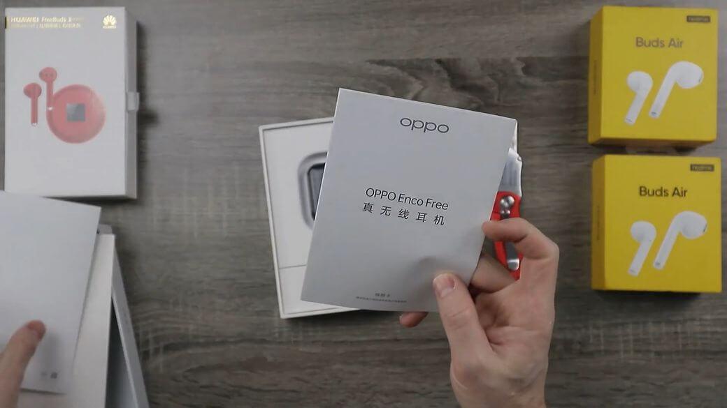 OPPO Enco Free Обзор: Наушники вкладыши с 13.4 мм драйвером