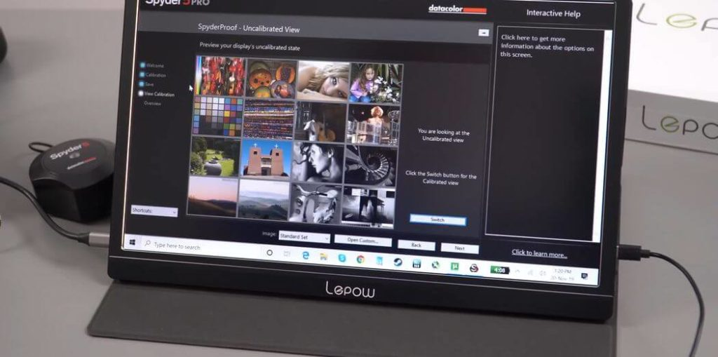 Lepow Z1 Обзор: Портативный 15,6 дюймовый IPS монитор с 1080p и Type-C