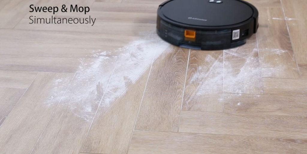 Alfawise V8S Max Обзор: Робот пылесос с ультрафиолетовым излучением