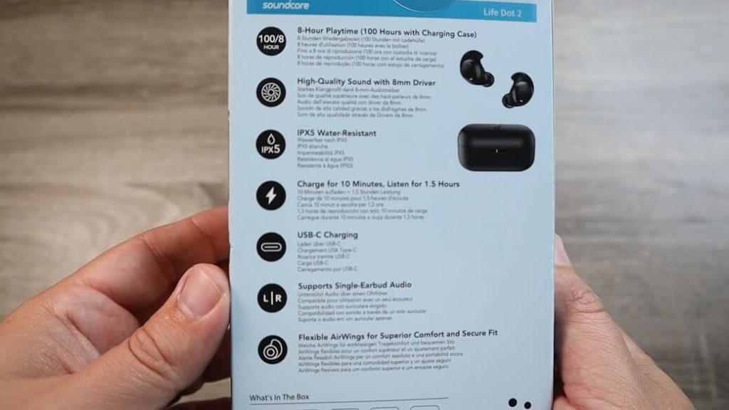 Anker Soundcore Life Dot 2 Обзор: TWS наушники с 8 мм драйвером