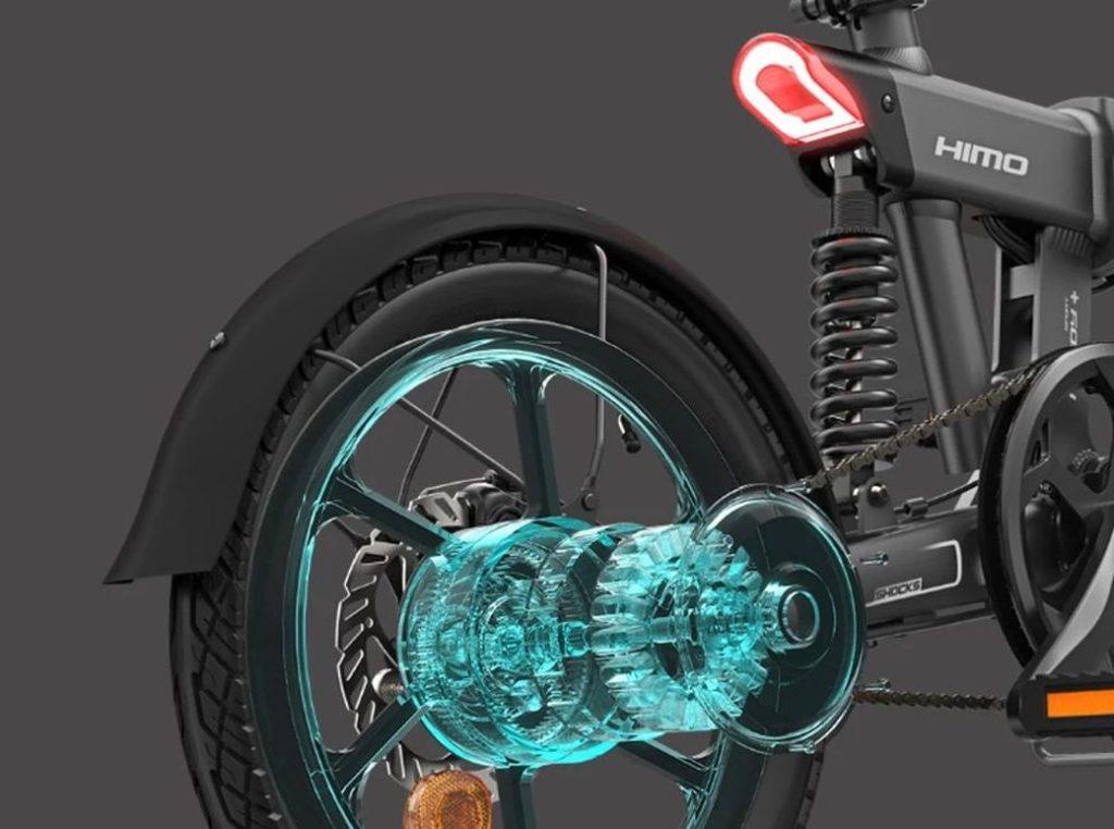 HIMO Z16 - Компактный городской электрический велосипед