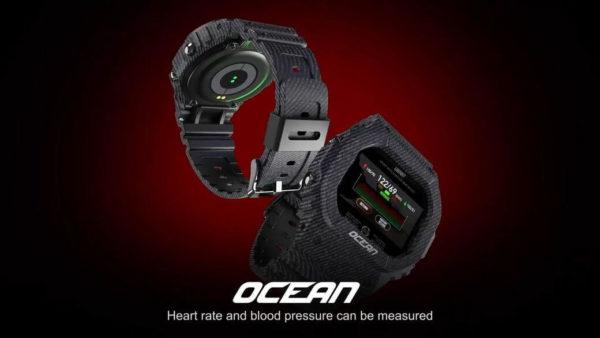 LOKMAT Ocean - Олдскульные умные часы для походов и спорта за $20