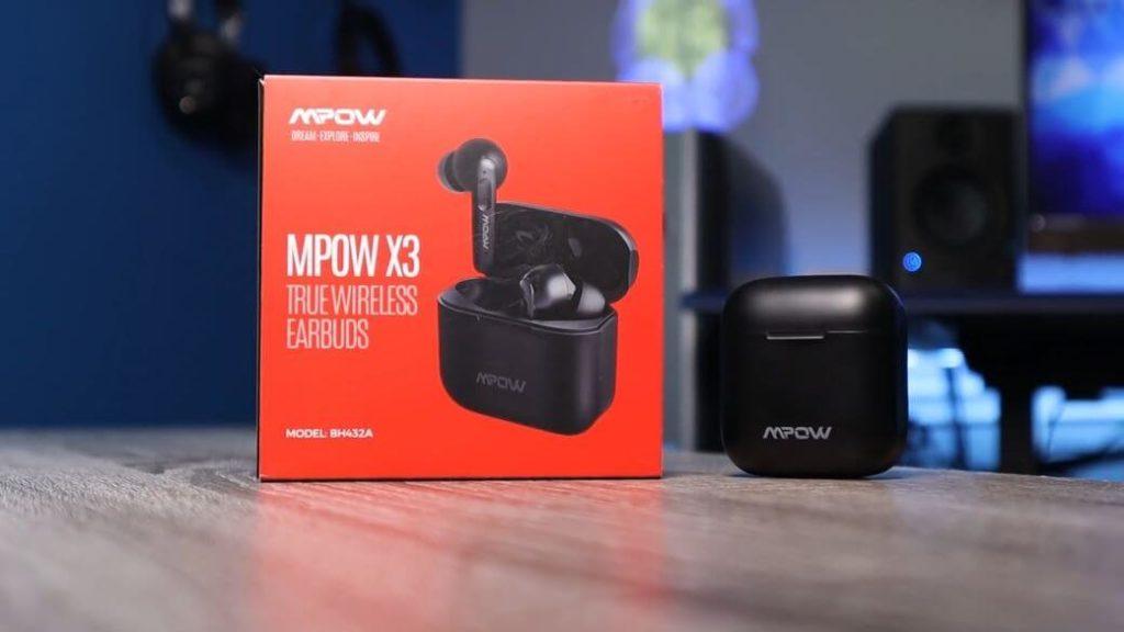 Mpow X3 Обзор: Наушники с активным шумоподавлением ANC до $50