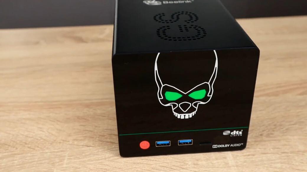 BEELINK GS King X Обзор: ТВ бокс с NAS сервером до 32 Тб