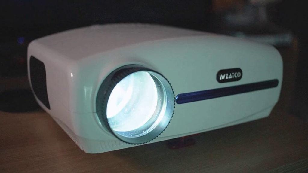 WZATCO C2 Обзор: Нереально крутой Full HD проектор до $200
