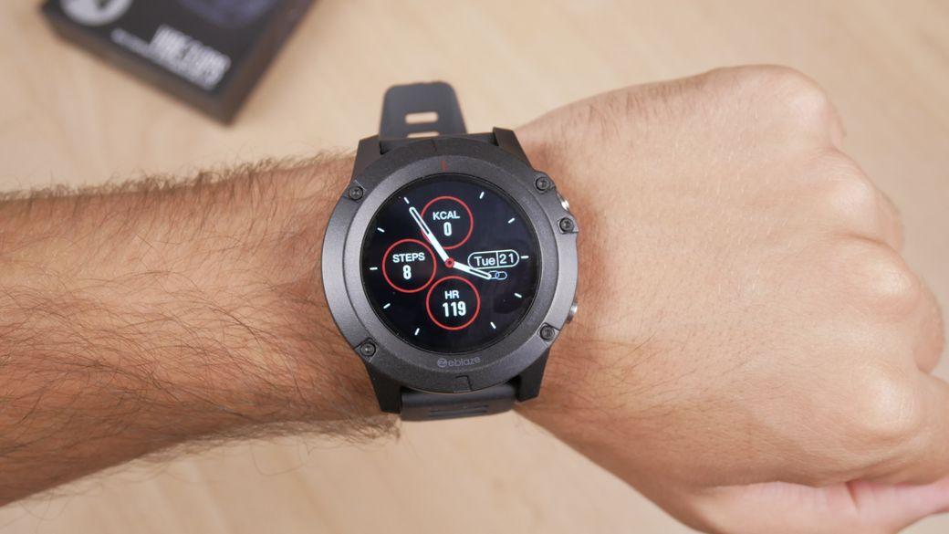 Zeblaze Vibe 3 GPS Обзор: Недорогие умные часы с GPS навигацией