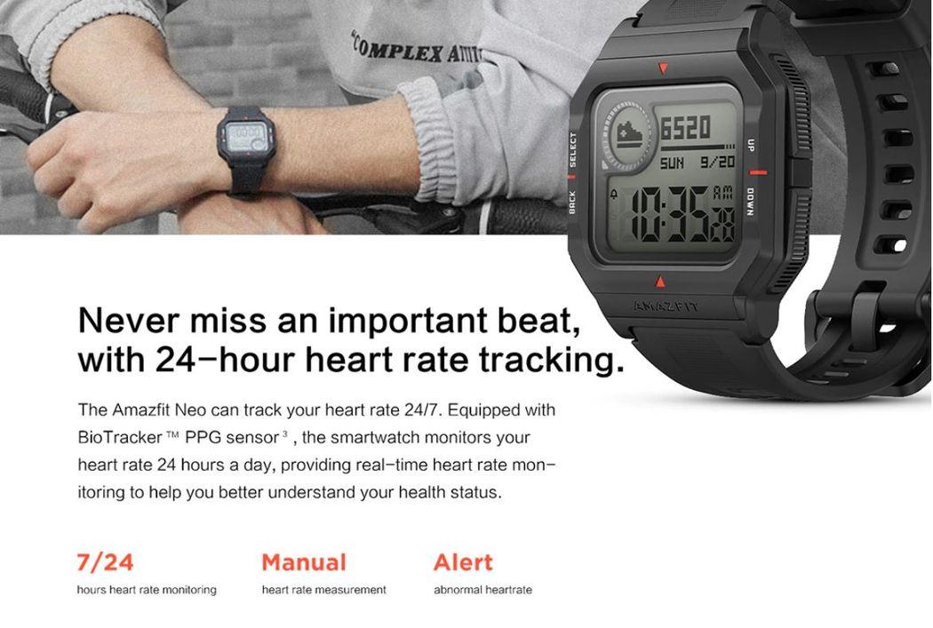 Amazfit Neo Обзор: Умные часы с классическим дизайном
