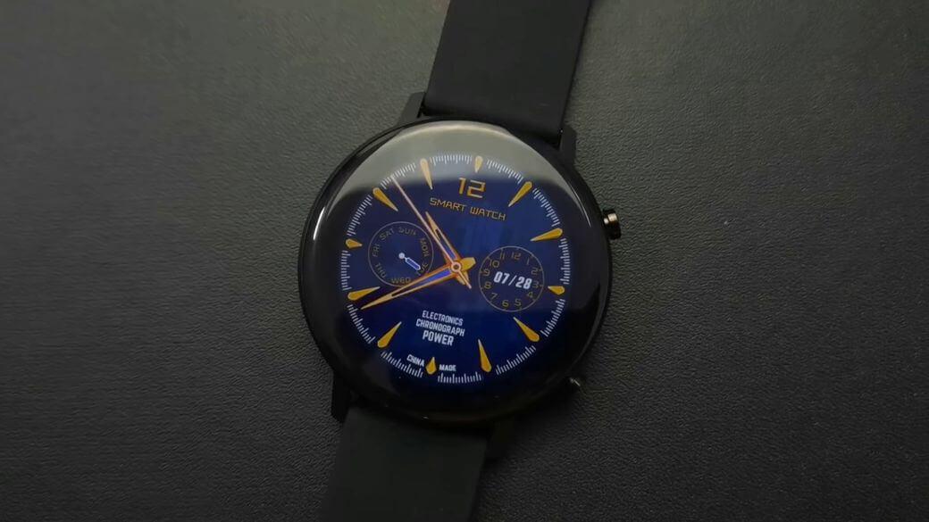 NO.1 DT96 Обзор: Стильные минималистичные умные часы 2020