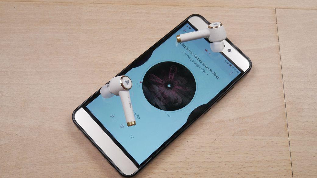 Whizzer TP1S Обзор: Уникальный дизайн TWS наушников