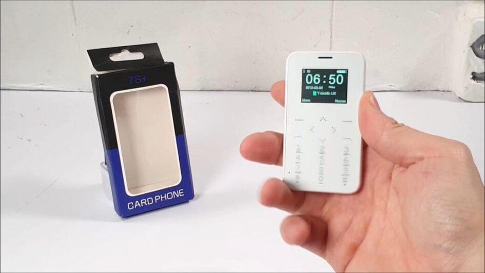 SOYES S7+: Кнопочный смартфон в стиле iPhone за $13