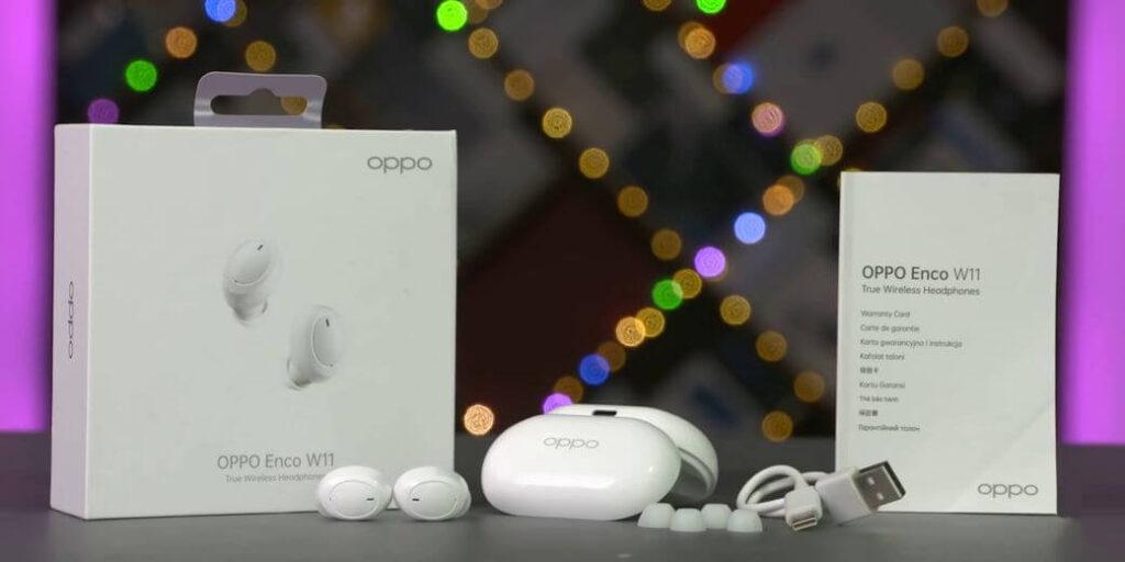 Oppo Enco W11 Обзор: Маленькие эргономичные TWS наушники за $25