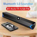 2020 TV Sound Bar AUX USB со скидкой 55%