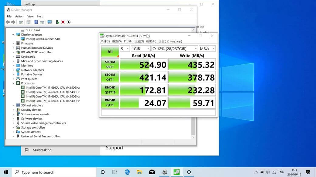 Alldocube i7Book Обзор: Ультрабук с Intel Core i7 и 8/256 Гб памятью