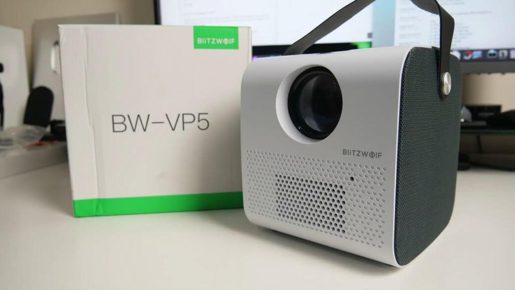 BlitzWolf BW-VP5 Обзор: Качественный проектор 720р до $100