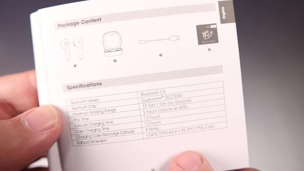 SoundPEATS TrueAir 2 Обзор: Наушники с QCC3040 и за $40