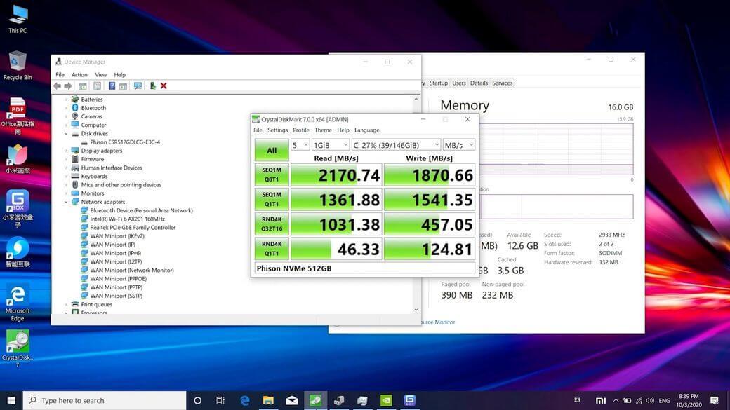 Xiaomi Redmi G Обзор: Игровой ноутбук на Intel Core i5-10300H